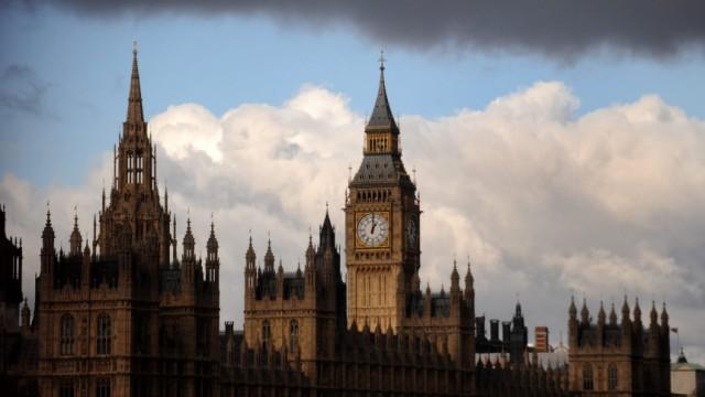 Westminster-Palast mit Big Ben