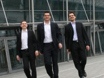 Altruja Andreas Jagdhuber, Nicolas Reis, Stefan Grothkopp (v.l.)