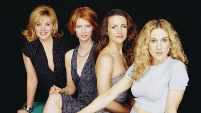 FILE PHOTO OF CAST OF COMEDY SERIES SEX AND THE CITY