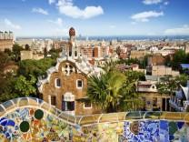 Barcelona Stadtausblick