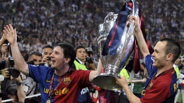 Champions League - FC Barcelona - Manchester United