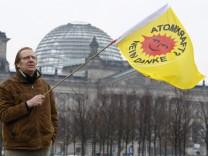 Protest gegen Atompolitik