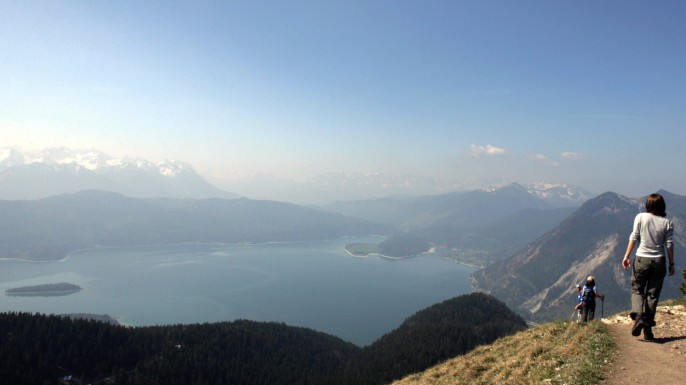 Jochberg Bayern Deutschland Wandern Alpen