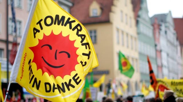 Demonstration gegen Atomkraft in Landshut