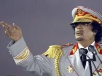 Muammar al-Gaddafi - Der wahnsinnige Oberst