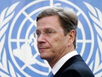 Guido Westerwelle bei UN-Vollversammlung