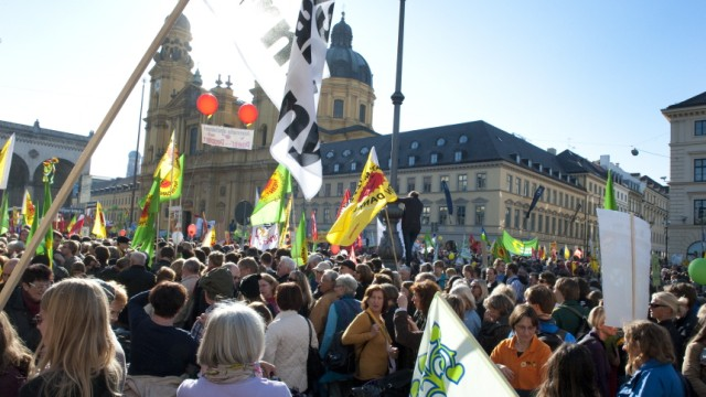 Anti-Atomkraft Demonstration in München, 2010