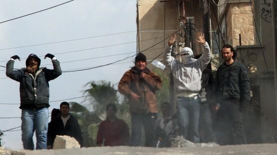 Demonstrationen in Daraa, Syrien, im März 2011
