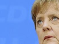 CDU Angela Merkel Bundeskanzlerin Landtagswahl Baden-Württemberg