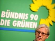 Wahlkampfveranstaltung der hessischen Gruenen