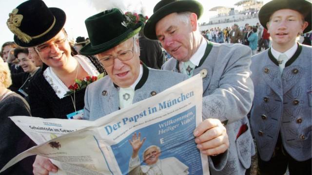 Papst Benedikt XVI. besucht seine Heimat