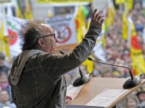 Demonstration gegen Atomenergie in Muenchen