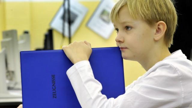 Zeugnisausgabe in der Grundschule