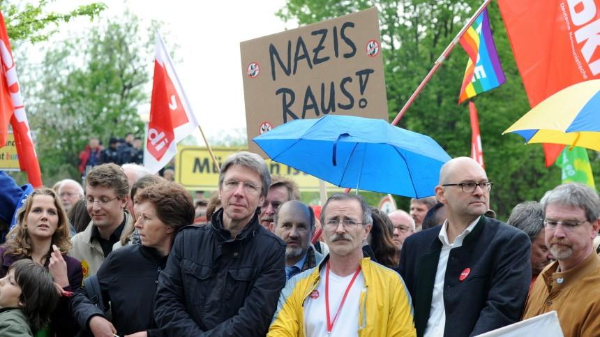 Münchner verhindern Neonazi-Marsch, 2010