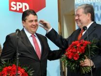 SPD-Präsidium Beck Gabriel