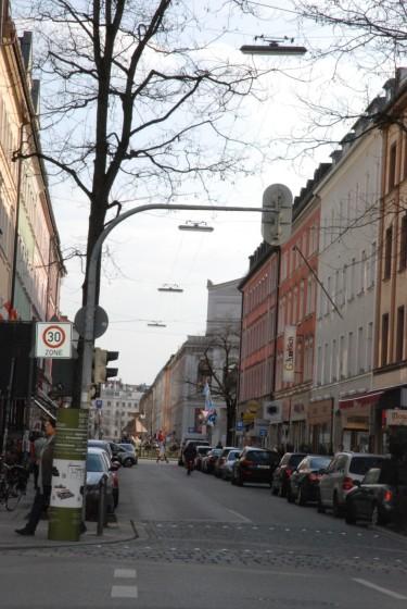 Munchner Strassen Reichenbachstrasse Im Atelier Natur