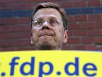 Seit langem umstritten: FDP-Chef und Vizekanzler Guido Westerwelle