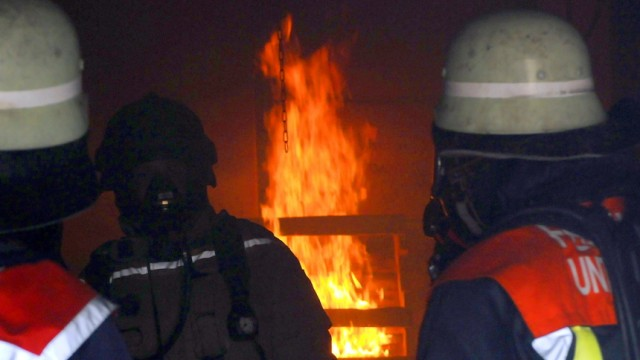 Karlsfeld Feueralarm in Karlsfeld