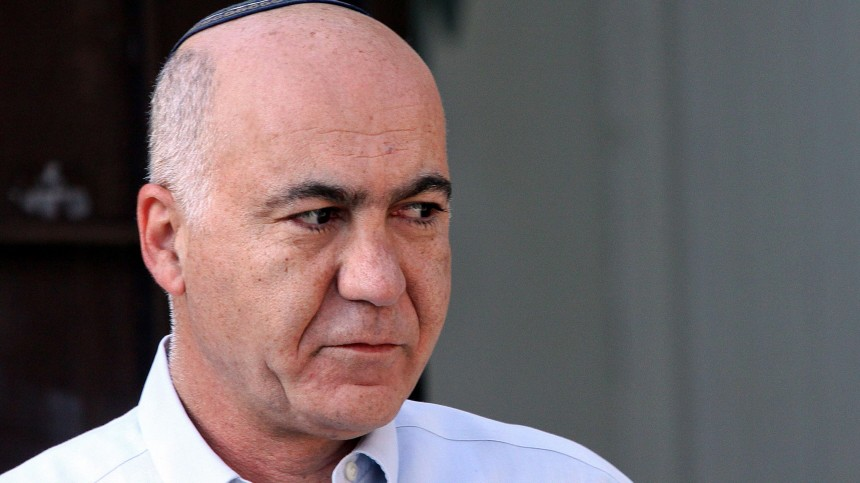 Next Israeli Shin Bet director Yoram Cohen in Jerusalem