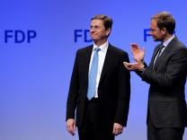 FDP-Vorstand: Westerwelle soll Parteivorsitz an Lindner abgeben