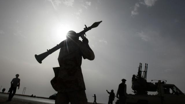 Krieg in Libyen Krieg gegen Gaddafi