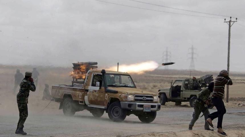 Krieg in Libyen Rebellen im Libyen-Krieg