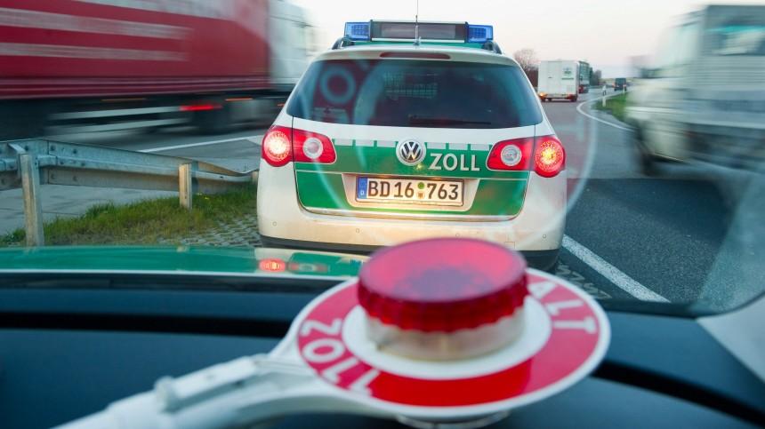Der Zoll an der deutsch-polnischen Grenze