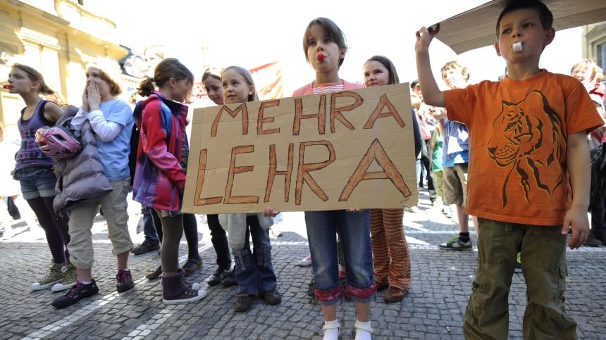 Demo für mehr Lehrer