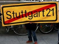 Bahn legt 'Stuttgart 21' auf Eis - Konzern erlaesst Baustopp