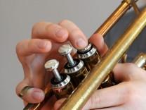 Trompetespielen