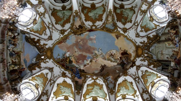 Restaurierter Kaisersaal in der Residenz Würzburg