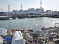 Arbeiten am havarierten Atomkraftwerk