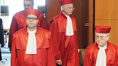 Verfassungsgericht Verfassungsgericht zu Lissabon-Vertrag