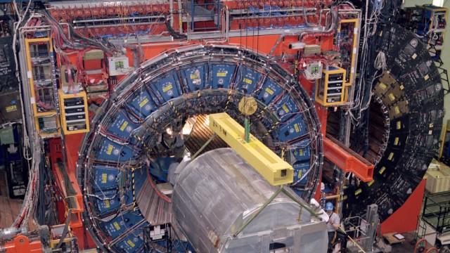Spekulationen um neue Naturkraft - CDF-Detektor