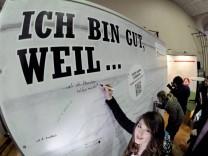 Kampagne 'Ich bin gut' soll Schuelern bei Berufswahl helfen