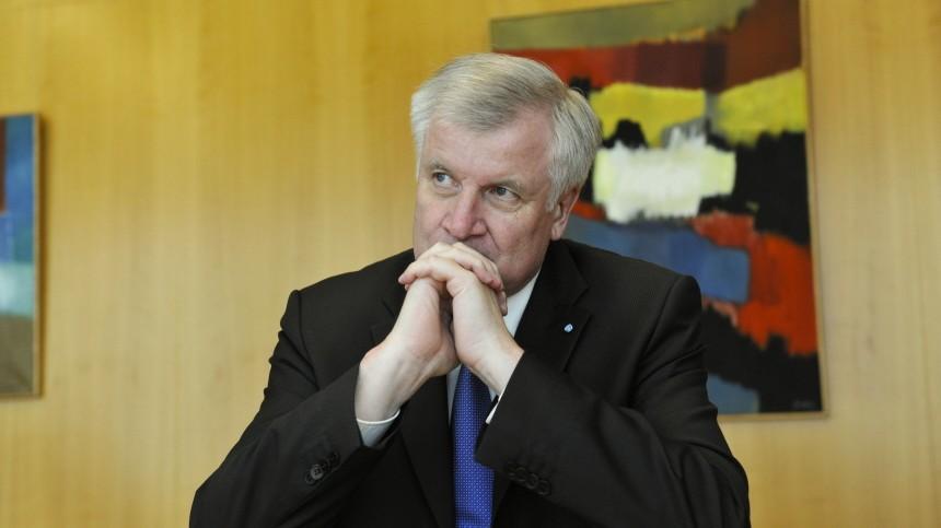 Horst Seehofer CSU-Chef Horst Seehofer