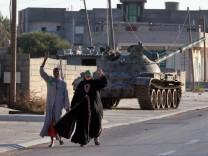 Gaddafis Anhänger