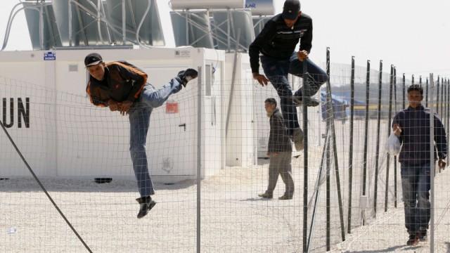 Flüchtlinge Flüchtlinge aus Nordafrika
