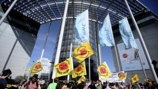 Proteste gegen Atomenergie