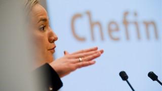 Familienministerin Schroeder eroeffnet Ausstellung 'Meine Zukunft: Chefin im Handwerk'