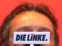 Bayerischer Landesparteitag der Partei Die Linke - Ernst