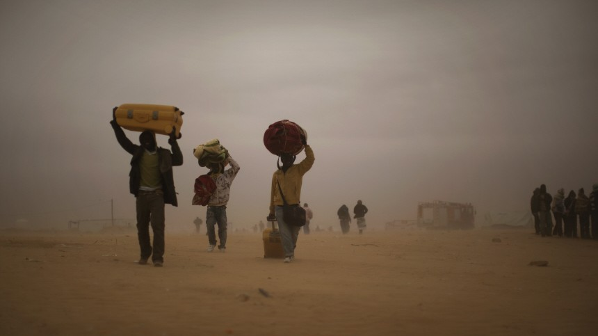 Flüchtlingspolitik Flüchtlinge aus Nordafrika