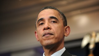 President Obama Delivers a Statement On Budget - DC