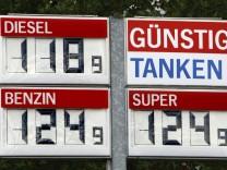 Benzinpreise im Rückwärtsgang