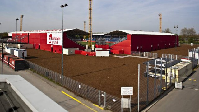 Fortuna Düsseldorf mobiles Stadion