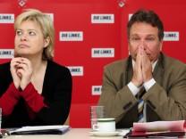 Parteichefs i Die Linke, Gesine Lötzsch Klaus Ernst Lafontaine