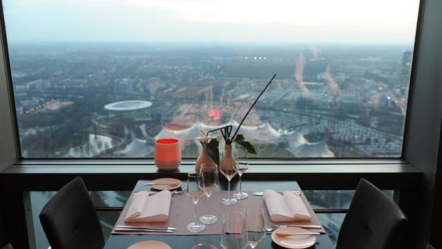 "Restaurants Internationales Restaurant ""181"" im Olympiaturm"