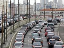Der Verkehr in São Paulo