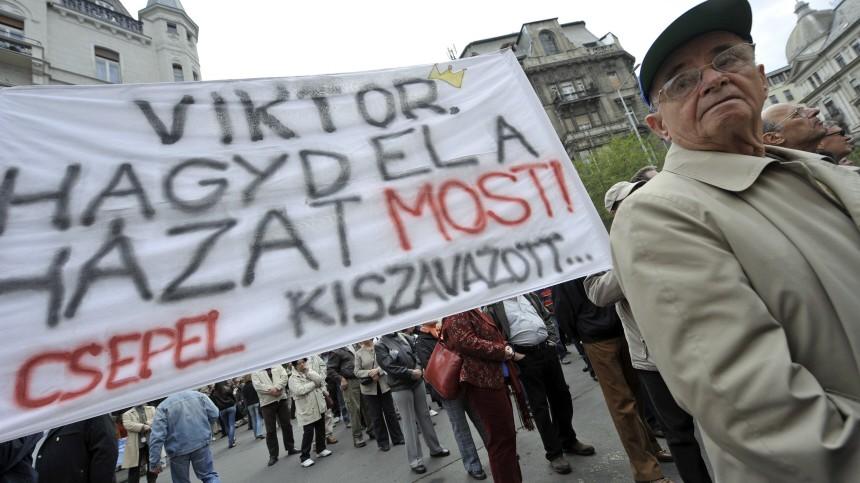 Verfassungsänderung in Ungarn Neue Verfassung für Ungarn