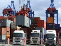Deutscher Export mit Aufwind